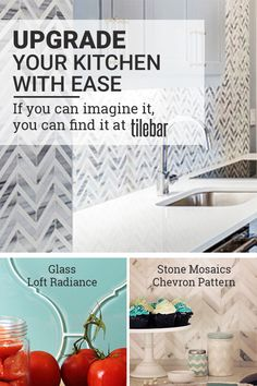 Upgrading your kitchen has never been easier or more fun than it is with Tile Bar. Tile Bar has the best selection of any type of tile you can imagine, and with their Inspiration page, you can get creative by seeing the full potential of what can be done. Visit TileBar.com and see the possibilities.