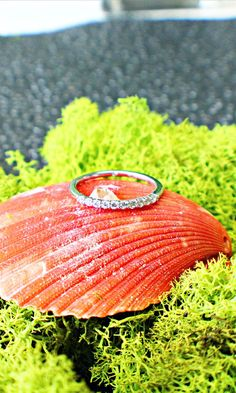 This wedding band has a diamond for every decade. So your love will last 100 years and beyond.