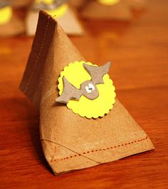 TP Roll Halloween Party Favor - use for other parties too -toilet paper roll possibilities!