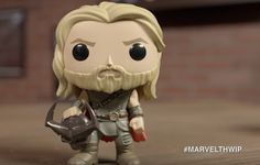 There's the new gladiator version of Hulk, mirroring the character's look from the Planet Hulk storyline in the comics. Meanwhile, Hela gets two F. Thor 1, Loki, Gladiator Hulk, Planet Hulk, Pop Marvel, Pop Vinyl Figures, Funko Pop, Avengers, Character Design