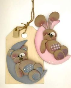 Primavera 2018 | Categorie prodotto | Country Creations Homemade Gift Tags, Teddy Toys, Fabric Animals, Country Crafts, Arte Country, Country Paintings, Baby Sewing, Pet Toys, Diy And Crafts