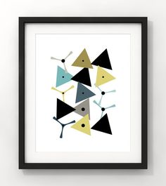 Downloadable Art Abstract Art Home Decor Nursery by fileclerk Abstract Art, Nursery, Unique Jewelry, Handmade Gifts, Cards, Etsy, Vintage, Home Decor, Kid Craft Gifts