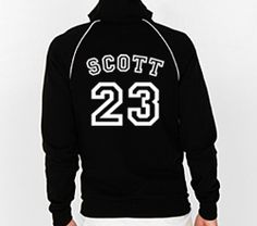 One Tree Hill T Nathan Scott 23 Warm Up Track Jacket Fleece sweat Shirt | eBay