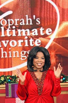 """2010 - In Oprah's final """"Favorite Things"""" show—a two-part extravaganza—the audience receives gifts ranging from a Josh Groban CD to a 2012 VW Beetle."""
