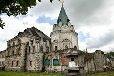 L'Eglise Saint-Serge de Radonège - Monastère Fiodorovsky - Pouchkine - Construit de 1913 à 1918 par l'architecte Stepan Krichinsky.