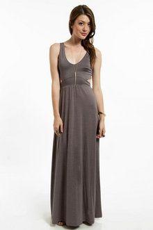 Anna Maxi Dress in Dusty Plum