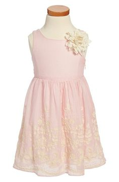 Pippa & Julie Embroidered Cotton Voile Dress (Toddler Girls & Little Girls) available at #Nordstrom