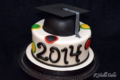 Graduation cake by K Noelle Cakes
