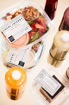 Local Love #sedona #flagstaff Salad Packaging, Beer Packaging, Food Packaging Design, Poke Bowl, Cute Food, Yummy Food, Clean Recipes, Healthy Recipes, Food Cart Design