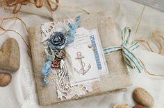 Скрапоголики: Морской винтаж от Ирины Монтач