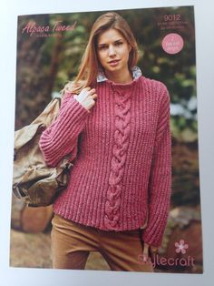 StyleCraft Knitting Pattern 9012 by HandmadeLCreations on Etsy