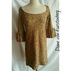 Diane von Furstenberg Size 2 Dress Such a cute dress!  So cute with brown boots.  Size 2. Diane von Furstenberg Dresses