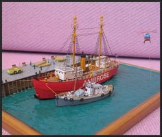This is a very beautiful ship paper model, Lightship Ambrose, the papercraft was designed by DigitalNavy. The finished model was built by a chinese paper m 3d Paper, Paper Toys, Paper Train, Ship Craft, Chinese Paper, Paper Ship, Paper Magic, Model Ships, Paper Models