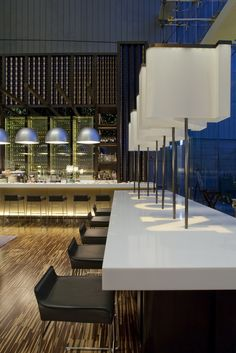 Green restaurant in Hong Kong  designed by CL3 architects