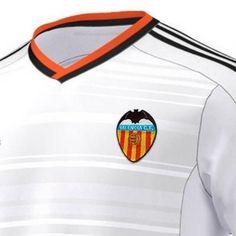 Así es la camisetas de futbol Adidas del Valencia CF 2014-15