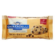 Semi-Sweet Chocolate Baking Chips - Baking Products Ghirardelli® Semi-Sweet Chocolate Chips are a carefully balanced blend of the finest ingredients, including real cocoa butter, unsweetened chocolate, and just the right touch of sugar.