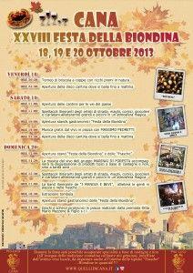 #Cana Festa della Biondina #castagne #maremmans