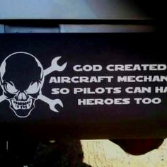 A little aircraft maintenance humor...
