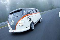 Volkswagen T1 z silnikiem z Porsche - Moto