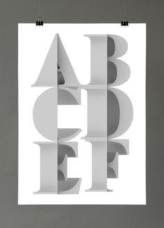 Multiply type by Txaber , via Behance