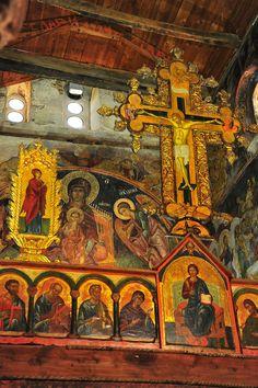 Cross above Iconostasis, St. Stephen's Church, Nessebar, Bulgaria    Flickr - Photo Sharing!