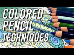 12 Blending Tips for Colored Pencils - YouTube  Repinned by http://www.complicatedcoloring.com/