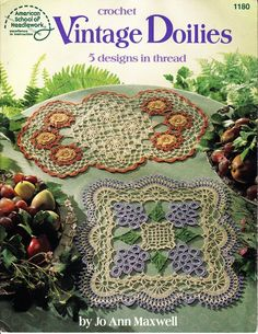 VINTAGE DOILIES - Chloe Taylor - Álbuns da web do Picasa... Online  book with patterns.