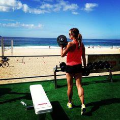 O projeto traz  uma academia de 300m², que  está montada ao ar livre, com treinos diários de musculação, CrossFit, vôlei de praia e Levantamento de Peso Olímpico