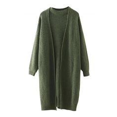 Casual Open Front Knitted Cardigan Sweater Twin Set ($24) ❤ liked on Polyvore featuring tops, cardigans, sweaters, jackets, outerwear, green top, cardigan pullover, no sleeve cardigan, sleeveless pullover and long sleeve pullover