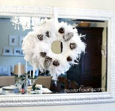 Are you a bit of a vintage nut? Then you'll love this Pearly White DIY Wreath. Instead of throwing off your already fabulous vintage decor, add to it with this beautiful DIY Christmas decoration. Once you've created the pearly base, make it your own.