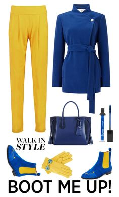 """""""Walk in style"""" by pamela-802 on Polyvore featuring moda, Charlotte Olympia, Jacques Vert, Balmain, Longchamp, Gizelle Renee, Butter London e chelseaboots"""