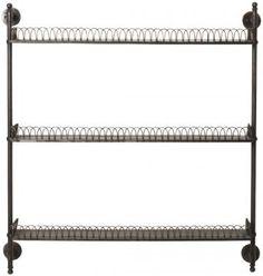Boswell Iron Wall Shelf