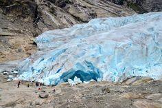 O Glaciar Nigardsbreen