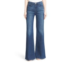 f6fca6b25fa7 Image of Frame Denim High Rise Wide Leg Flare Jeans (Rockaway)