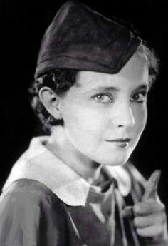 Betty Bronson, 1924 as ''Peter Pan'' Silent movie