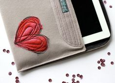 Going to make similar iPad covers for this springs craft season!
