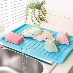 Kitchen Worktop, Kitchen Shelves, Kitchen Storage, Kitchen Tools, Kitchen Sink, Kitchen Dishes, Kitchen Gadgets, Draining Board, Plate Storage