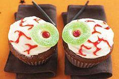 """Eyeball"" Cupcakes Recipe - Kraft Recipes"