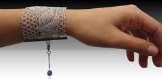 Sandra Bautista lace bracelets from http://bklynbrideonline.com/3897/uncategorized/sandra-bautista-lace-bracelets/