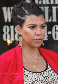 Kourtney Kardashian - Jeweled Seminole Earrings #KourtneyKardashian #Nissa #Jewelry
