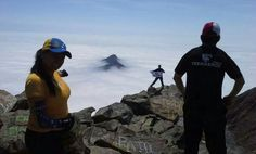 Over the clouds #Trekkeros #Chile