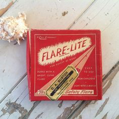 Check out this item in my Etsy shop https://www.etsy.com/listing/184106665/vintage-roadside-flare-lite-in-original