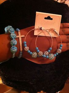 Arm Candy Statement Bracelet Basketball Wives Earring Free Shipping