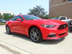 The crew from Ford Motor Company came to Heiser Ford Lincoln to train our staff about the all-new 2015 Ford Mustang. Here are some Heiser sneak peek photos of this awesome new car. We can't wait until a few hit our inventory this fall.
