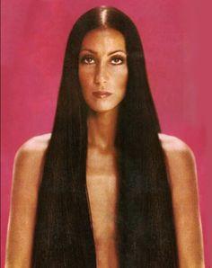 The Goddess Of Pop : Photo Patti Hansen, Lauren Hutton, Pretty People, Beautiful People, Cher Photos, 70s Glam, Cher Bono, Super Long Hair, Iconic Women