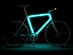 Teague Pulse Urban Bike. Pretty cool to ride in the evenings and not be missed!