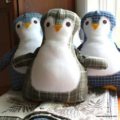Memory Pillows and Memory Penguin Pillows!