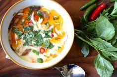 Thai Coconut Chicken Soup (Tom Kha Gai)