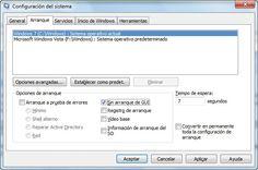 Configurar un arranque rápido en Windows 7.