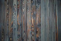 Shou-sugi-ban (burnt wood siding) -
